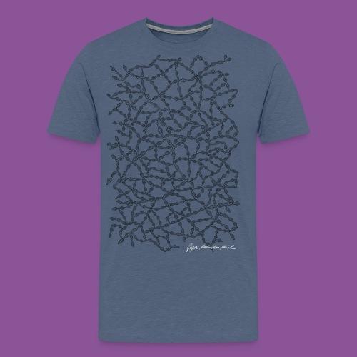 Nervenleiden 54 - Männer Premium T-Shirt