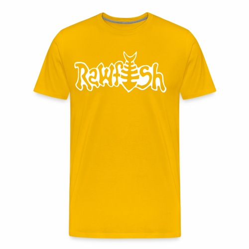 rawfishlogoclean - Premium-T-shirt herr