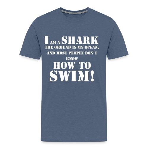 im a shark - Men's Premium T-Shirt
