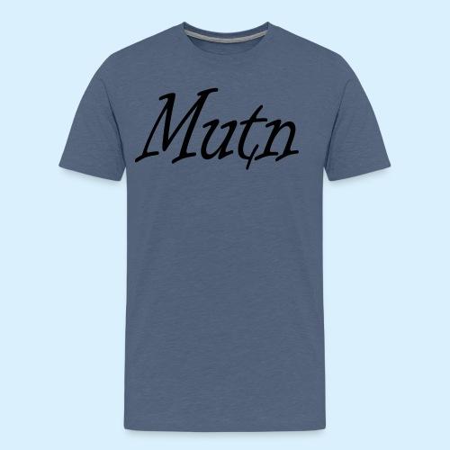 ontwerp2mutn - Mannen Premium T-shirt