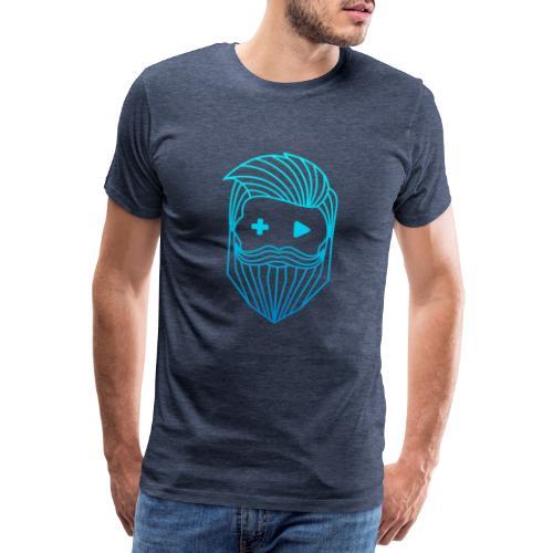 RobyTec Logo B1 Icon - Männer Premium T-Shirt