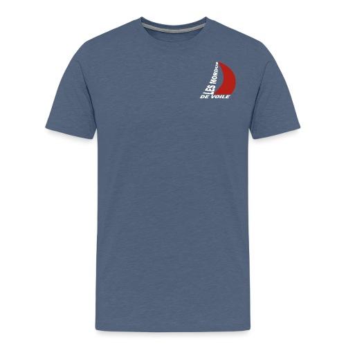 Les mordus de voile - T-shirt Premium Homme