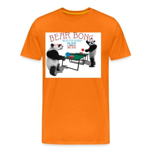 Bear Bong - Miesten premium t-paita