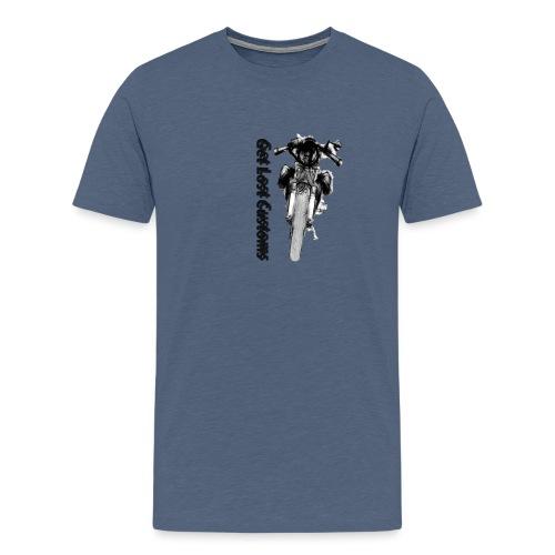 Caferacer 1 - Mannen Premium T-shirt