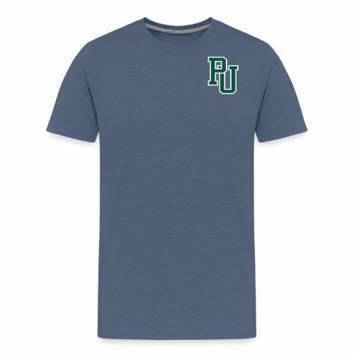 PU initialen - Mannen Premium T-shirt