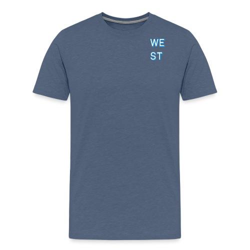 WEST LOGO - Maglietta Premium da uomo