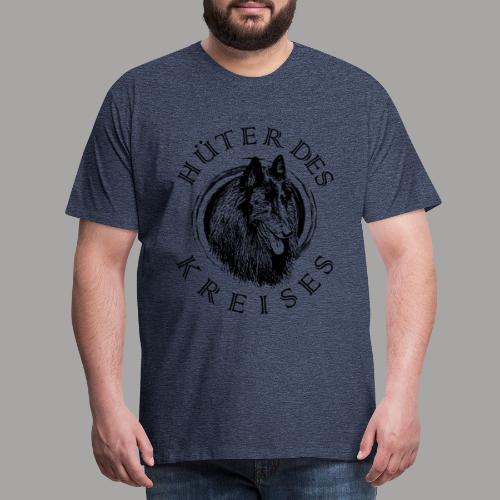 Belgischer Schäferhund - Groenendael (Hüter) - Männer Premium T-Shirt