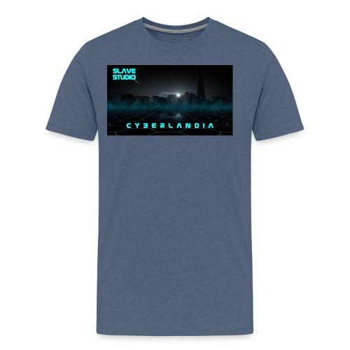 Cyberlandia - Maglietta Premium da uomo