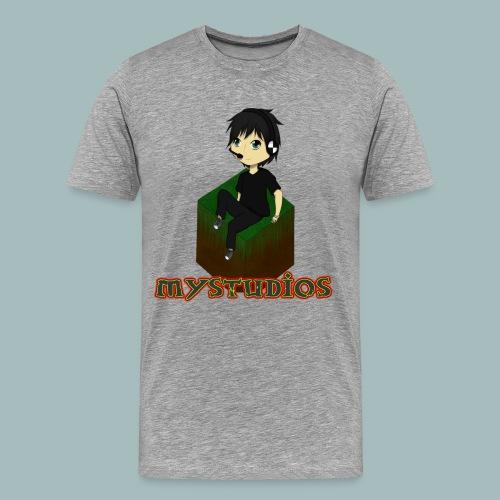 Mystudios Stylo - Männer Premium T-Shirt