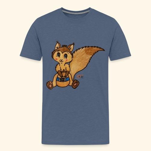 zuckereichhörnchen frei - Männer Premium T-Shirt