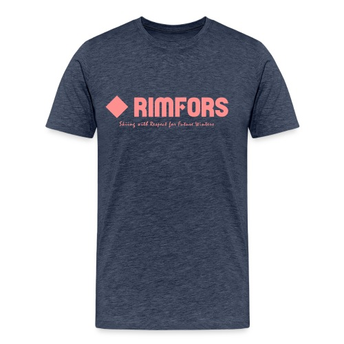 Rimfors bamboo ski poles - Premium-T-shirt herr