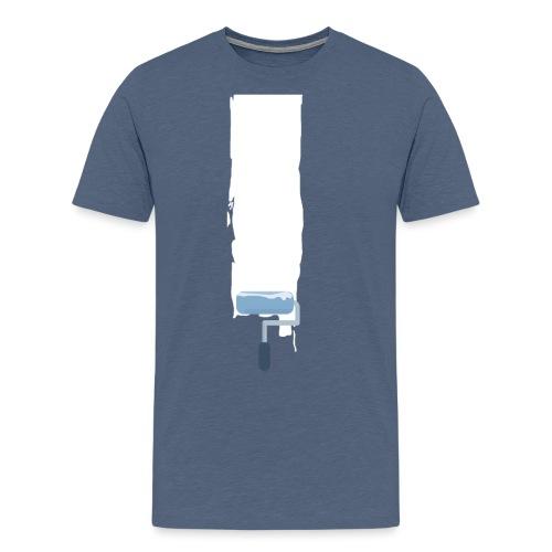Flat stroke design - Männer Premium T-Shirt