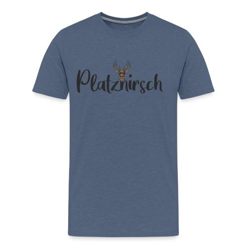 Cooler Hirsch - Männer Premium T-Shirt