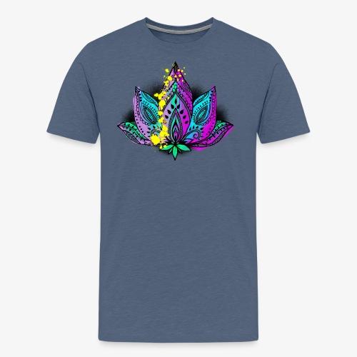 Lotustyp by TheRawburt - Premium-T-shirt herr
