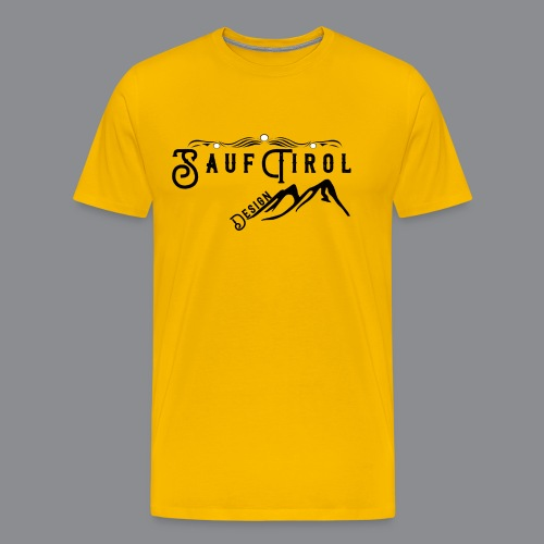 Sauftirol Design - Männer Premium T-Shirt