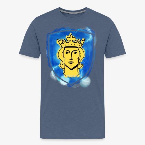 Sthlm Stöld By TheRawburt - Premium-T-shirt herr
