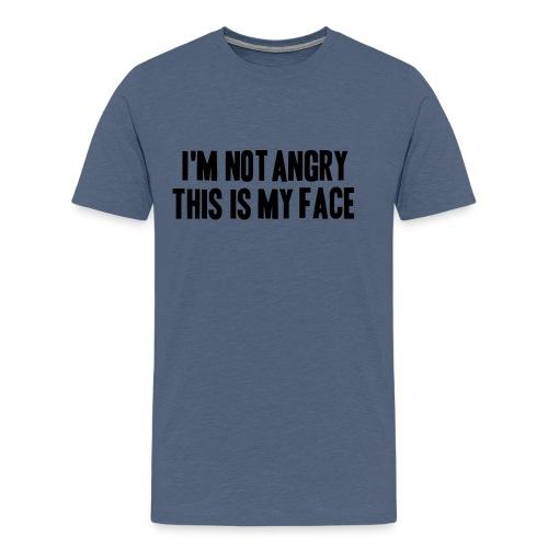 angry coole lustige Sprüche RBF wütend schön Teen - Männer Premium T-Shirt