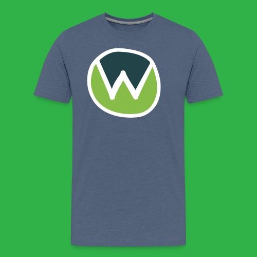 wtr-main-logo_RGB - Men's Premium T-Shirt