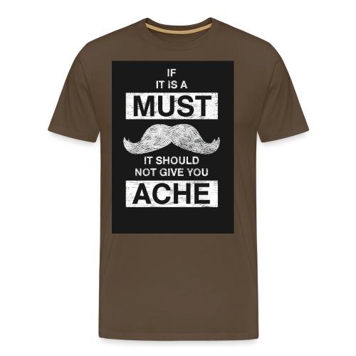 MUSTACHES 2 - Miesten premium t-paita