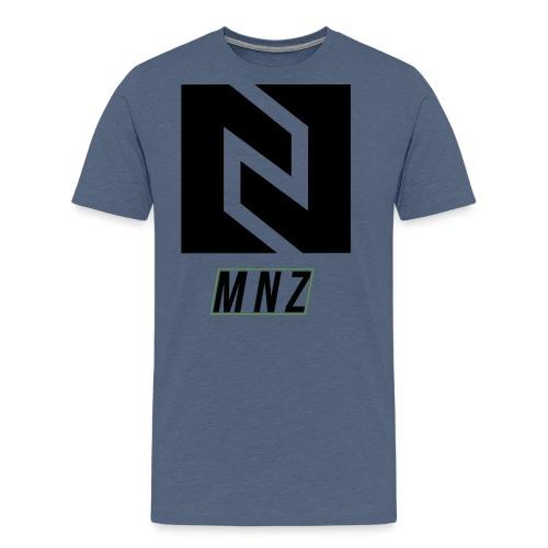 MNZ Logo Noir V2 - T-shirt Premium Homme