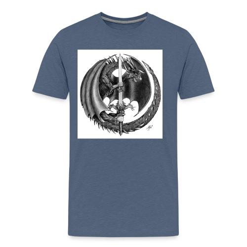 Black Dragon - T-shirt Premium Homme