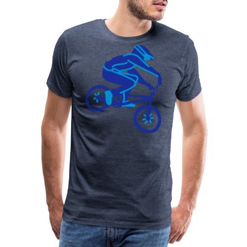 BMX Rider Dark - Mannen Premium T-shirt