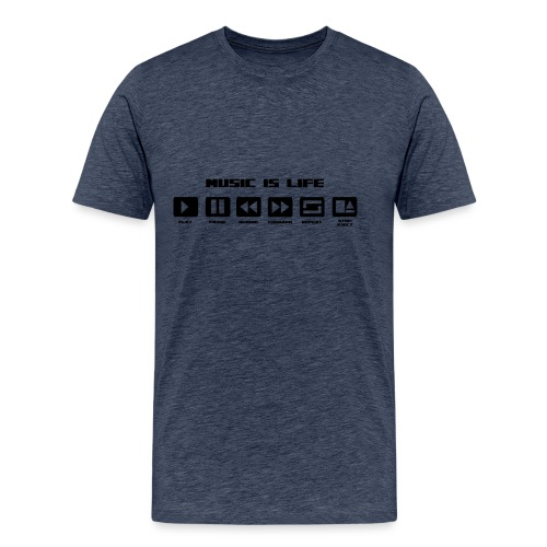 music 2 - T-shirt Premium Homme