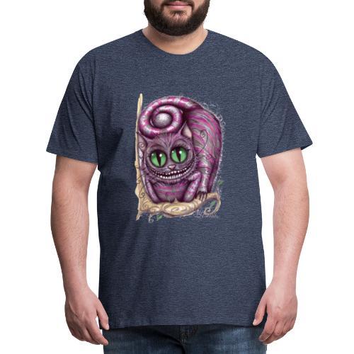 Stregatto Art 3 - Maglietta Premium da uomo