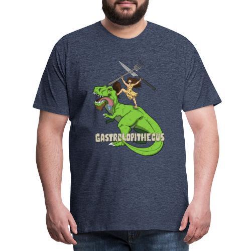 Gastrolopithecus El mundo es un viaje - Camiseta premium hombre