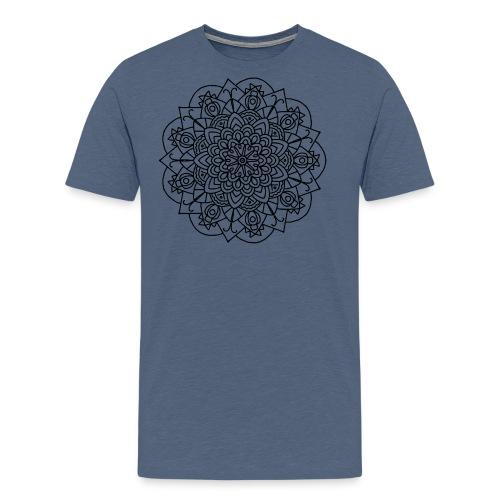 Beetle Mandala - Men's Premium T-Shirt