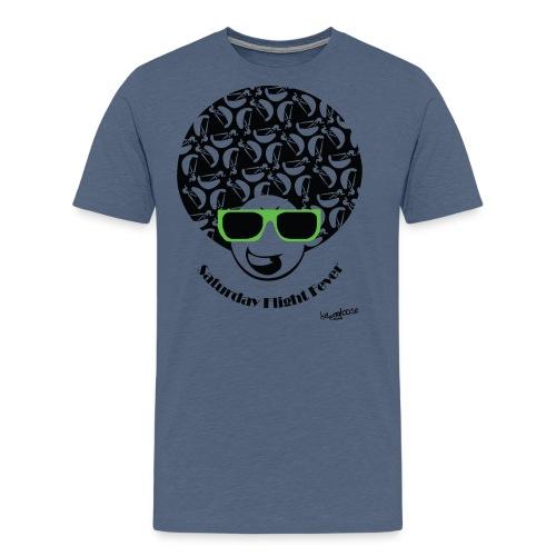 Afro_burschen_gruen - Männer Premium T-Shirt