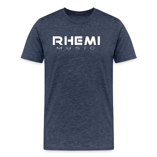 Classic Rhemi logo White - Men's Premium T-Shirt