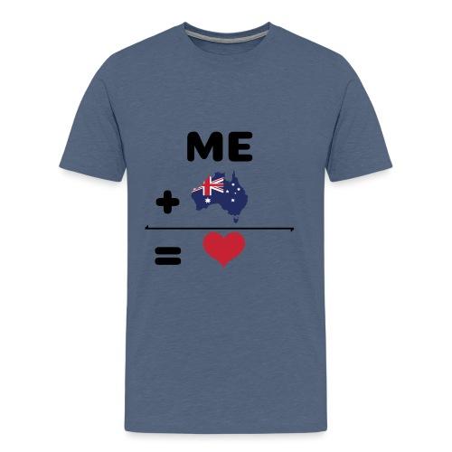 love australien - Männer Premium T-Shirt
