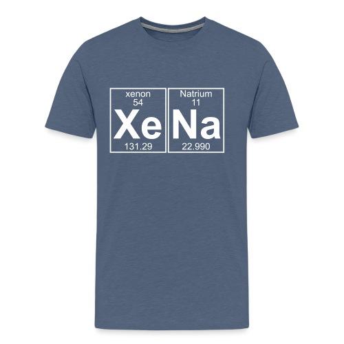 Xe-Na (xena) - Men's Premium T-Shirt