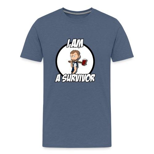 Game Survivant - T-shirt Premium Homme