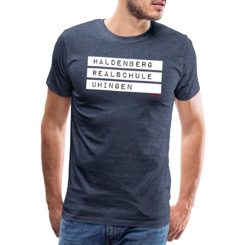 HRSU Wear Tape white - Männer Premium T-Shirt