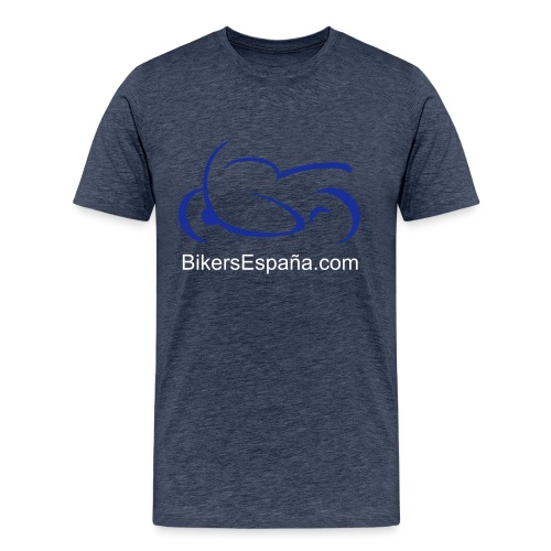sportsbike with text - Men's Premium T-Shirt