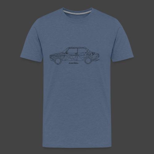 Limited Edition 99 Zwart - Mannen Premium T-shirt