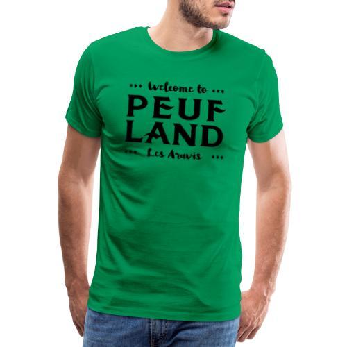 Peuf Land Aravis - Black - T-shirt Premium Homme