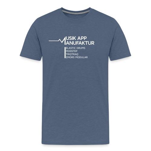 Musik App Manufaktur T - Men's Premium T-Shirt