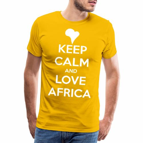 keep calm noir - T-shirt Premium Homme