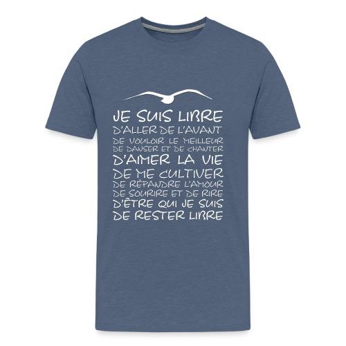 J SUIS LIBRE - T-shirt Premium Homme