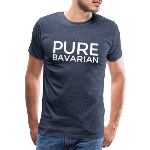PURE BAVARIAN (Weiß) Bayern Pur - Männer Premium T-Shirt