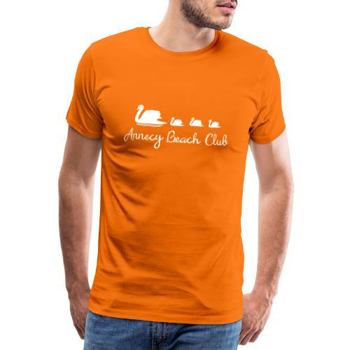 Annecy Beach club - Cygnes - T-shirt Premium Homme