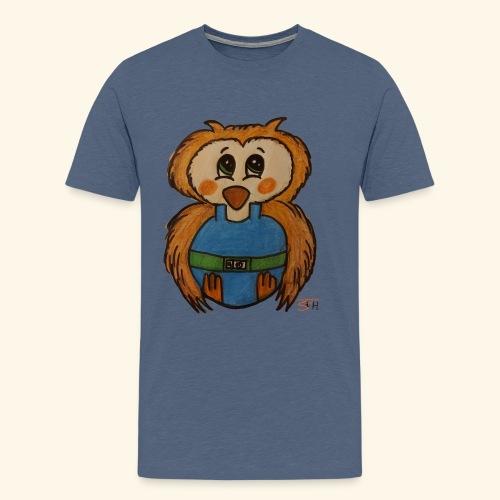 zuckereule frei - Männer Premium T-Shirt