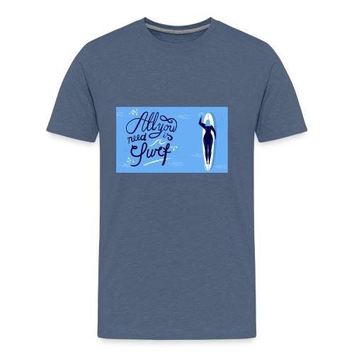 summer surfing - T-shirt Premium Homme