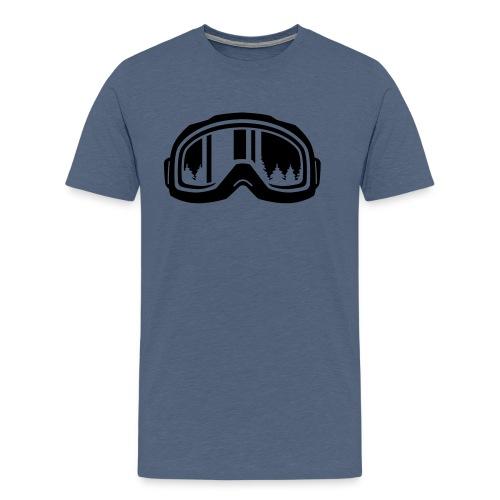snowboard - Mannen Premium T-shirt