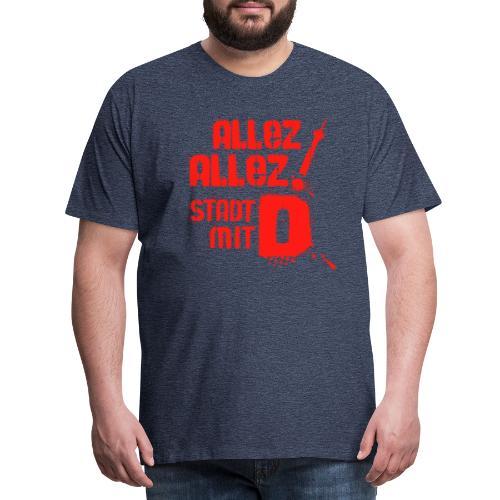 Dickes D 5 3 red - Männer Premium T-Shirt