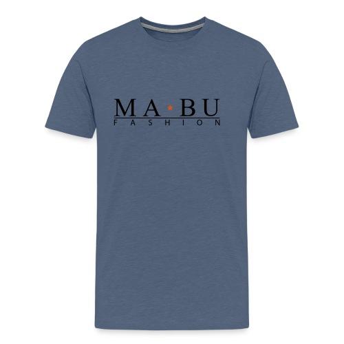 mabu-fashion_schwarz-gelb - Männer Premium T-Shirt