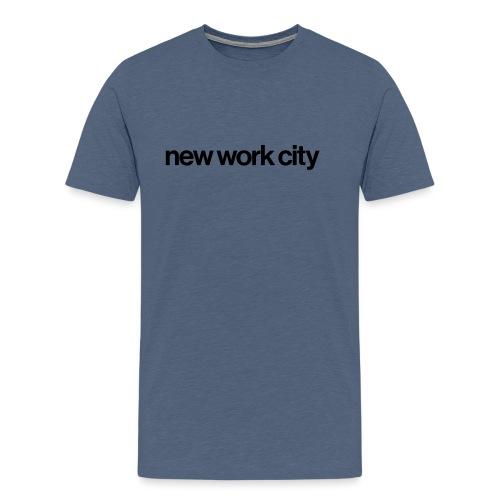 new work city - Männer Premium T-Shirt